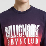 Мужская футболка Billionaire Boys Club Dip Dye Straight Logo Red фото- 5