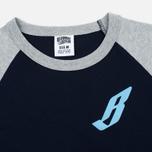 Billionaire Boys Club Flying B Raglan Men's T-shirt Navy/Grey photo- 1