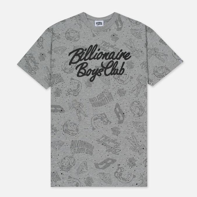 Мужская футболка Billionaire Boys Club Galaxy All-Over Print Heather Grey