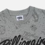 Мужская футболка Billionaire Boys Club Galaxy All-Over Print Heather Grey фото- 1