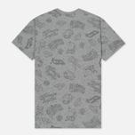 Мужская футболка Billionaire Boys Club Galaxy All-Over Print Heather Grey фото- 4