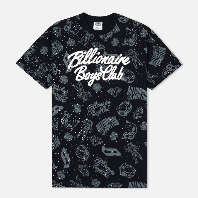 Мужская футболка Billionaire Boys Club Galaxy Reflective AO Black