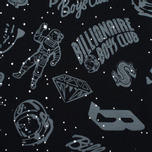 Мужская футболка Billionaire Boys Club Galaxy Reflective AO Black фото- 2
