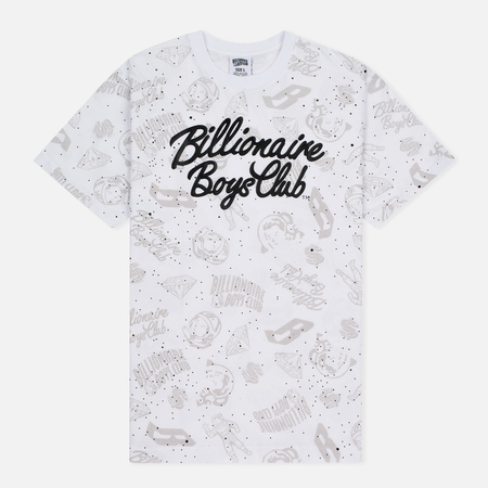 Billionaire Boys Club Galaxy Reflective AO Men's t-shirt White