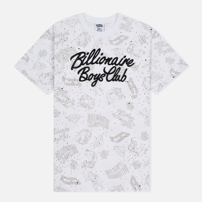 Мужская футболка Billionaire Boys Club Galaxy Reflective AO White