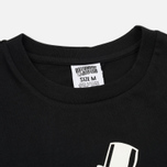 Мужская футболка Billionaire Boys Club Gentleman Straight Logo Black фото- 1