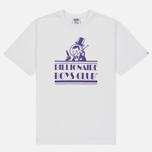 Мужская футболка Billionaire Boys Club Gentleman Straight Logo White фото- 0