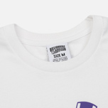 Мужская футболка Billionaire Boys Club Gentleman Straight Logo White фото- 1