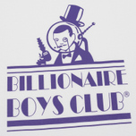 Мужская футболка Billionaire Boys Club Gentleman Straight Logo White фото- 2