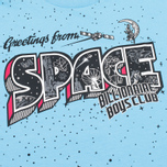Мужская футболка Billionaire Boys Club Greetings From Space Baby Blue фото- 2