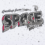 Мужская футболка Billionaire Boys Club Greetings From Space White фото- 2