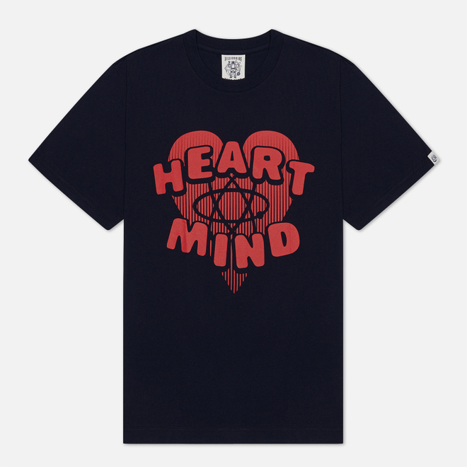Мужская футболка Billionaire Boys Club Heart & Mind Navy
