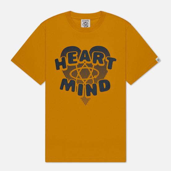 Мужская футболка Billionaire Boys Club Heart & Mind Yellow