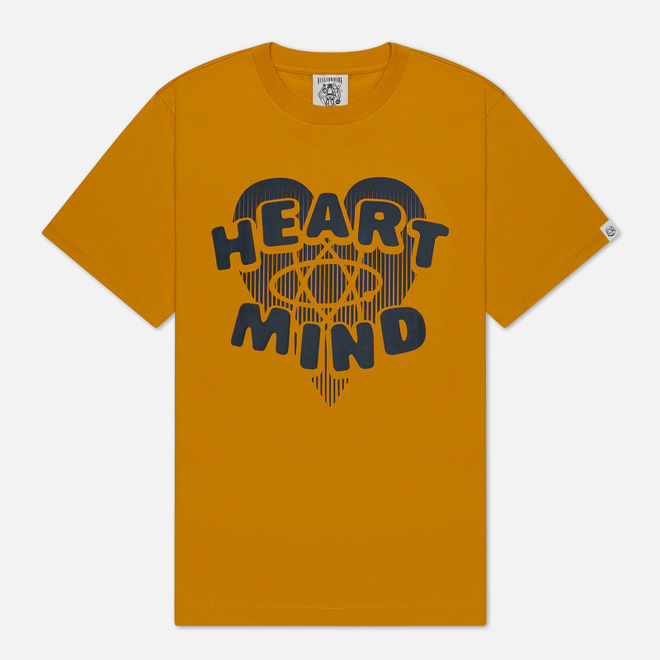 Мужская футболка Billionaire Boys Club Heart & Mind Yellow