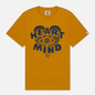 Мужская футболка Billionaire Boys Club Heart & Mind Yellow фото - 0