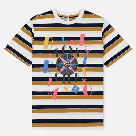 Мужская футболка Billionaire Boys Club Jumble Stripe White