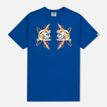 Мужская футболка Billionaire Boys Club Kings Head Blue фото- 0