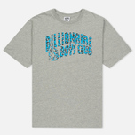Мужская футболка Billionaire Boys Club Leopard Arch Logo Heather Grey фото- 0