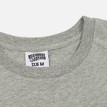 Мужская футболка Billionaire Boys Club Leopard Arch Logo Heather Grey фото- 1