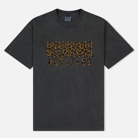 Мужская футболка Billionaire Boys Club Leopard Fill Straight Logo Black