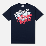 Мужская футболка Billionaire Boys Club Multi Script Navy фото- 0