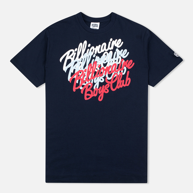 Billionaire Boys Club Multi Script Men's T-shirt Navy