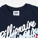 Мужская футболка Billionaire Boys Club Multi Script Navy фото- 1