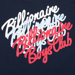 Мужская футболка Billionaire Boys Club Multi Script Navy фото- 2