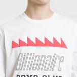 Мужская футболка Billionaire Boys Club Oscillating Logo White фото- 2