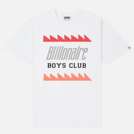 Мужская футболка Billionaire Boys Club Oscillating Logo White
