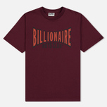 Мужская футболка Billionaire Boys Club Racing Logo Burgundy фото- 0