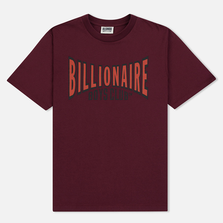 Мужская футболка Billionaire Boys Club Racing Logo Burgundy