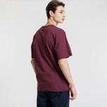 Мужская футболка Billionaire Boys Club Racing Logo Burgundy фото- 2