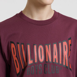 Мужская футболка Billionaire Boys Club Racing Logo Burgundy фото- 3