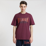 Мужская футболка Billionaire Boys Club Racing Logo Burgundy фото- 1