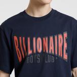 Мужская футболка Billionaire Boys Club Racing Logo Dark Blue фото- 3