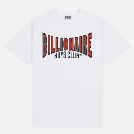 Мужская футболка Billionaire Boys Club Racing Logo White