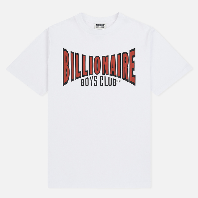 Мужская футболка Billionaire Boys Club Racing Logo White
