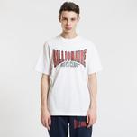 Мужская футболка Billionaire Boys Club Racing Logo White фото- 1