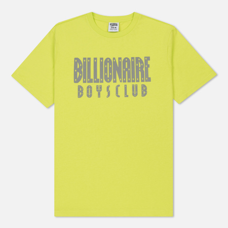 Мужская футболка Billionaire Boys Club Reflective Logo Cyber Yellow