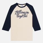 Мужская футболка Billionaire Boys Club Script Logo Raglan Beige/Navy фото- 0