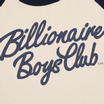 Мужская футболка Billionaire Boys Club Script Logo Raglan Beige/Navy фото- 2