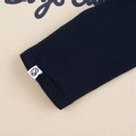 Мужская футболка Billionaire Boys Club Script Logo Raglan Beige/Navy фото- 3
