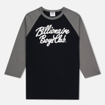 Мужская футболка Billionaire Boys Club Script Logo Raglan Black/Grey фото- 0