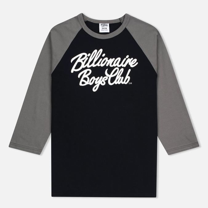 Billionaire Boys Club Script Logo Raglan Men's t-shirt Black/Grey