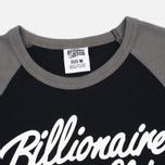Billionaire Boys Club Script Logo Raglan Men's t-shirt Black/Grey photo- 1