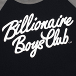 Мужская футболка Billionaire Boys Club Script Logo Raglan Black/Grey фото- 2