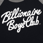 Billionaire Boys Club Script Logo Raglan Men's t-shirt Black/Grey photo- 2