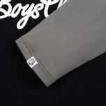 Billionaire Boys Club Script Logo Raglan Men's t-shirt Black/Grey photo- 3