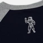 Мужская футболка Billionaire Boys Club Script Logo Raglan Navy/Grey фото- 4